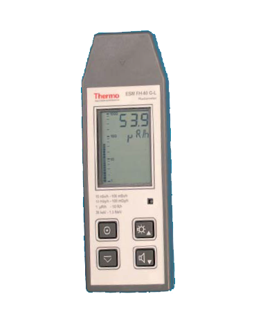 FH 40 GL-10 Radiameter energy compensated for ambient dose equivalent H*(10) according to ICRP60/ICRU39