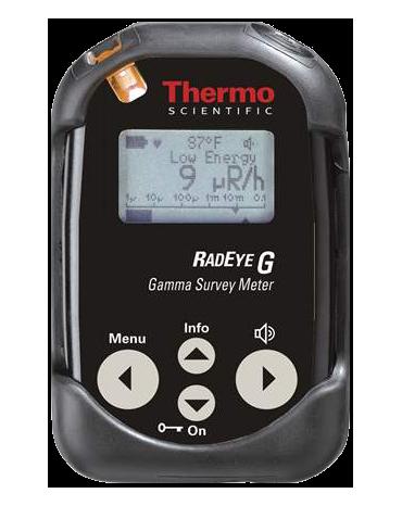 RadEye G Personal Dose Rate Meter